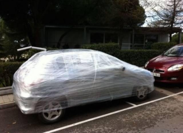 two spots parking revenge