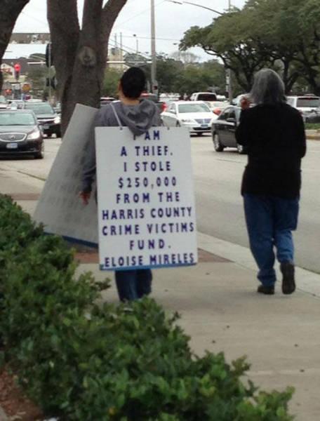 shame sign